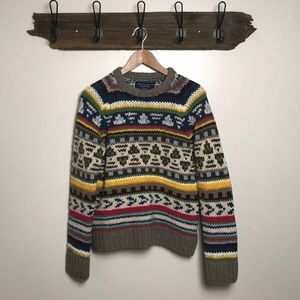 Chunky Sweater Handknit from American Eagle